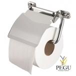 Ixi держатель для туалетной бумаги  с клапаном, полированая Н/Р сталь