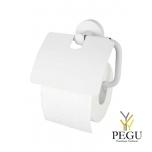 Haceka Kosmos держатель для туалетной бумаги с клапаном. белый