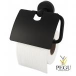 Haceka Kosmos держатель для туалетной бумаги с клапаном, черный