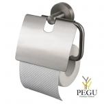Kosmos держатель для туалетной бумаги с клапаном. сталь