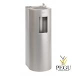 Питьевой фонтан напольный/настенный с наполнителем для бутылки ,механический Н/Р сталь AISI304