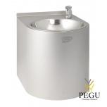 Питьевой фонтан настенный механический Н/Р сталь AISI304