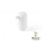 D Line Pebble дозатор для мыла матовый белый