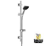 Damixa душевой комплект с лифтом Slate 4 flex хром