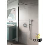 Süvistatud dušisüsteem termostaadiga Damixa SILHOUET HS 1 kroom