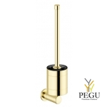 Damixa Silhouet щётка с креплением для туалета золото PVD