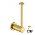 Damixa Silhouet WC держатель для запасного рулона туалетной бумаги матовое золото PVD