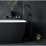 Damixa Silhouet Freestanding свободностоящий смеситель для ванной матовый чёрный