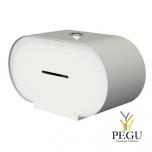 WC держатель для туалетной бумаги BJÖRK 2 стандартных рулона белый
