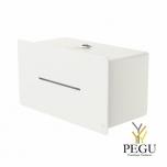 Держатель для туалетной бумаги 2 стандартных рулона LOKI белый RAL9003