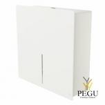 Дозатор для туалетной бумаги 1 Jumbo рулон LOKI белый RAL9003
