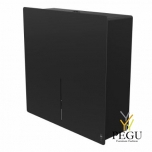 Дозатор для туалетной бумаги 1 Jumbo рулон LOKI чёрный RAL9005