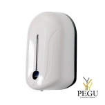 Desinfektandi sensoriga kontaktivaba dosaator Elegance 1.1L (pattarei), valge plastik