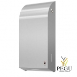 Дозатор для бумажных полотенец 400 2-ply Z/C полотенец Dan Dryer нержавеющая сталь