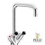 Delabie кухонный смеситель для профессиональной кухни 5640T3 45l/min  L300 mm
