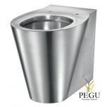 Нержавеющая сталь WC напольный Delabie BCN P