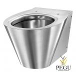 Нержавеющая сталь WC настенный Delabie BCN S полированный