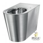 Нержавеющая сталь WC напольный Delabie S21