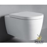 Duravit ME by Starck WC Rimless® komplekt 45290900A1, valge,  WC pott ja iste