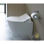 Duravit Me by Starck WC komplekt seinale 63100000 valge, SensoWash Slim dušiga WC iste