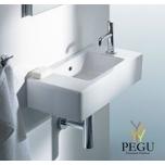Duravit мебельная раковина VERO 070350 500x250mm белая 1 отверстие под смеситель справа