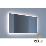 Eumar peegel Ambi Quatro 140x80 LED valgustusega