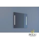 Eumar peegel Due 80x80 LED valgustusega