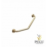 Инвалидная ручка Frost Grab rail 1 Н/Р сталь матовое золото