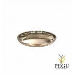 Подставка/ тарелочка декор Frost BOWL 170 , d171mm нержавеющая сталь золото