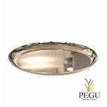 Подставка/тарелка декор Frost BOWL 270 , d268mm нержавеющая сталь, золото