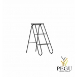 Treppreedel Frost STEP LADDER 3 astet must alumiinium/teras