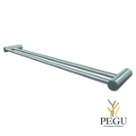 Вешалка для полотенца FROST TOWEL BAR 4 , 2-я 600mm, сатин