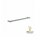 Вешалка для полотенца FROST TOWEL BAR 8 , 2-я 800mm,  сатин