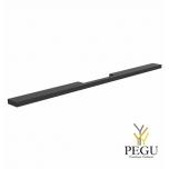 Мебельная ручка FROST ARKI+ ® 448 » SYMMETRICAL чёрная