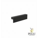 Мебельная ручка FROST Quadra 128,  чёрная