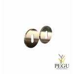 Накладка для сердечника дверного  замка ELEMENT 3002 d50mm золото
