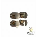 FROST Peeglikinnitus komplekt NOVA2 HOLDER 3, 4 tk, kuld