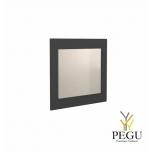 Зеркало Frost UNU с рамой , 500x600 чёрное