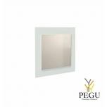 Зеркало Frost UNU с рамой , 500x600 белое