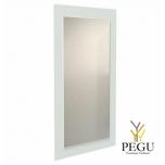 Зеркало Frost UNU с рамой , 1000x600 белое