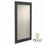 Зеркало Frost UNU с рамой , 1000x600 чёрное