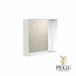 Зеркало Frost UNU с рамой , 500x500 белое