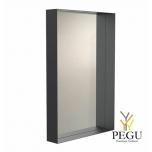 Зеркало Frost UNU с рамой , 900x600 чёрное
