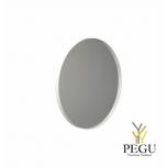 Зеркало Frost UNU с рамой , d1000mm белое