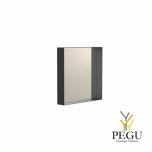 Зеркало Frost UNU с рамой , 400x400 чёрное
