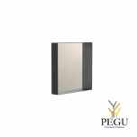 Peegel Frost UNU raamiga , 400x400 must
