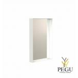 Peegel Frost UNU raamiga , 400x600 valge
