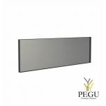 Frost зеркало с рамой 1400x400mm чёрный алюминий