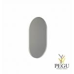Frost зеркало с рамой 500x800mm белый алюминий