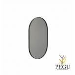Frost зеркало с рамой 500x800mm чёрный алюминий